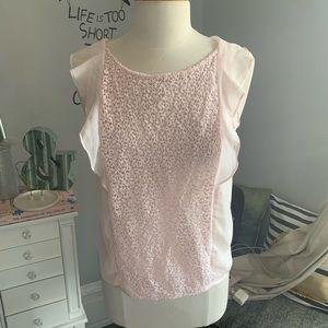 Zara chiffon blouse size medium